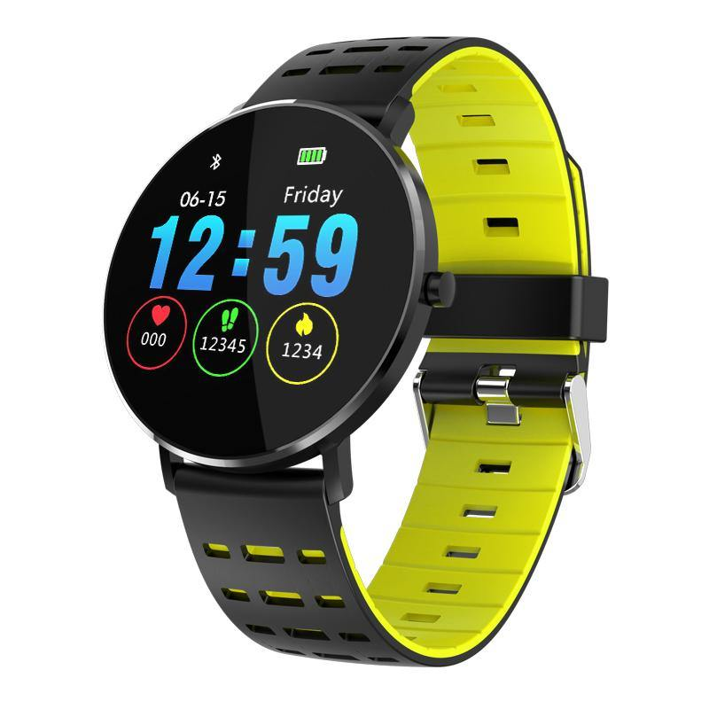 Microwear L10 Fitness/Smartwatch - Green Silicon
