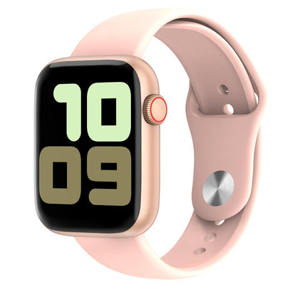 Microwear Watch 7 Fitness/Smartwatch - Rose Gold Silicon