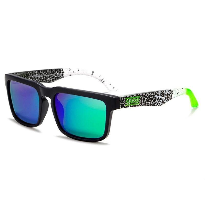 Kdeam KD901 Black/Green Polarized Sunglasses-Smael South Africa-Smael South Africa