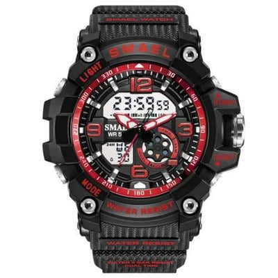 Kids Smael Red Chronograph Watch-Smael South Africa-Smael South Africa