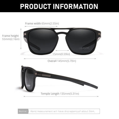 Kdeam KD112 #3 Polarized Sunglasses- TR90