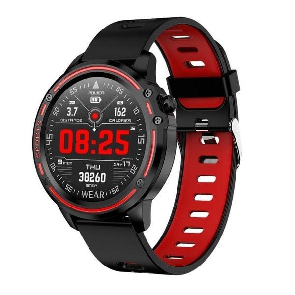 Microwear L8 Fitness/Smartwatch - Red