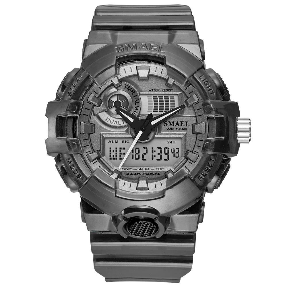 Smael 8023 Black Sports Watch