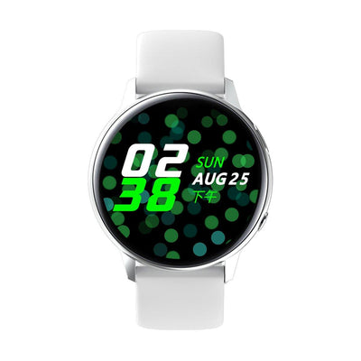 Microwear SG2 Fitness/Smartwatch - White Silicon - Smael South Africa