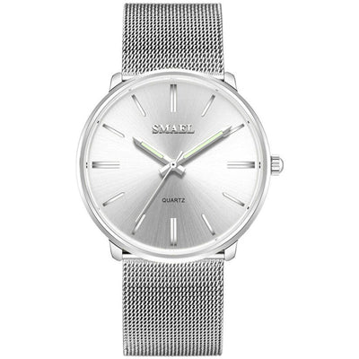 Smael SL1892 Ladies Classic Watch - Silver