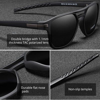 Kdeam KD112 #4 Polarized Sunglasses- TR90