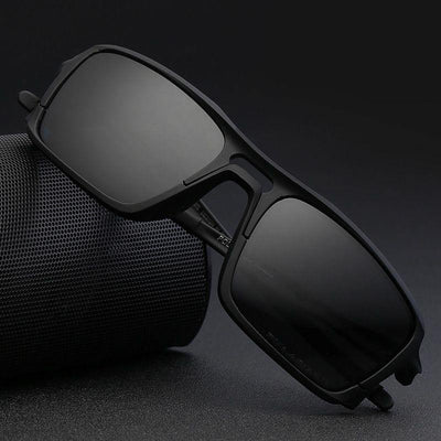 Kdeam KD222 TR90 Cycle Black Polarized Sunglasses