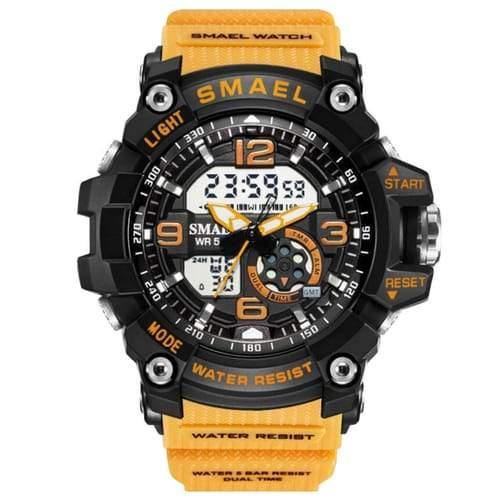 Kids Smael Yellow Chronograph Watch-Smael South Africa-Smael South Africa