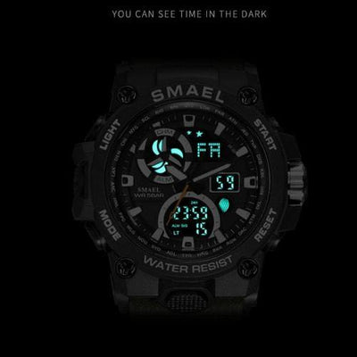 Smael Black SL8011 Sports Watch-Smael South Africa-Smael South Africa