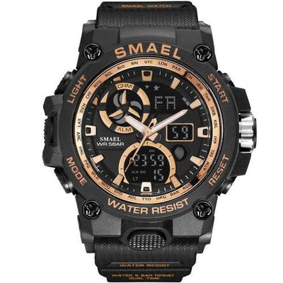 Smael Gold SL8011 Sports Watch-Smael South Africa-Smael South Africa