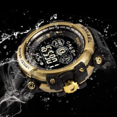 Smael Gold 8018 Bluetooth Sport Watch-Smael South Africa-Smael South Africa