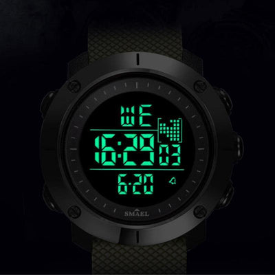 Smael SL1711 Yellow Digital Watch-Smael South Africa-Smael South Africa