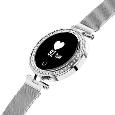 Microwear X10 Ladies Smart Fitness Watch - Silver