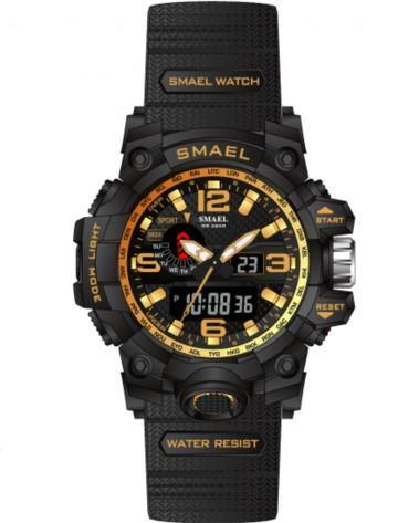 Smael Kids/Ladies Gold Multifuction Watch