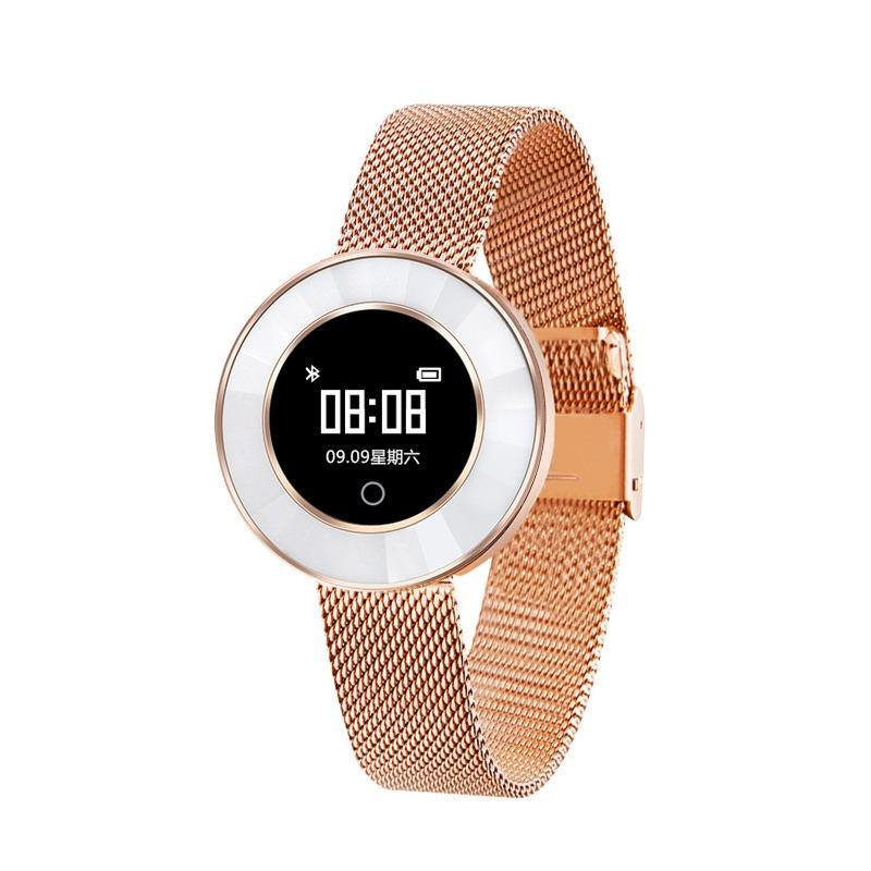 Microwear X6 Ladies Smartwatch - Rose Gold