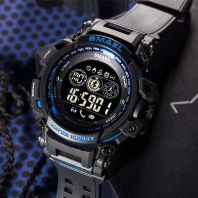 Smael Blue 8018 Bluetooth Sport Watch-Smael South Africa-Smael South Africa