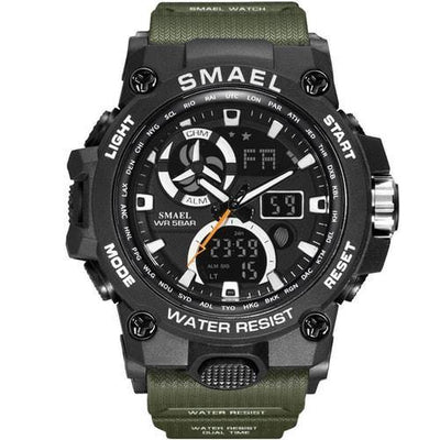 Smael Army Green SL8011 Sports Watch-Smael South Africa-Smael South Africa