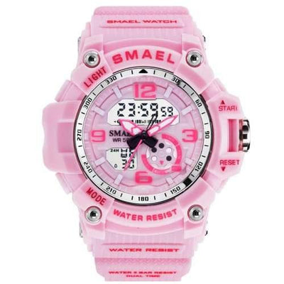 Kids Smael Pink Chronograph Watch-Smael South Africa-Smael South Africa