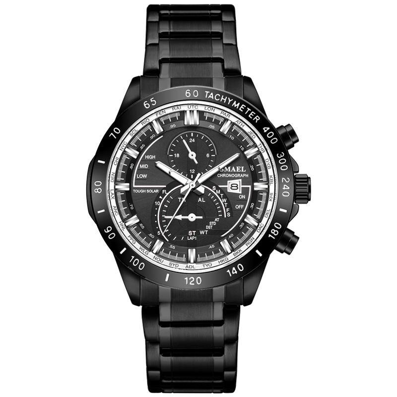 Smael SL-9062 Executive Watch - Black