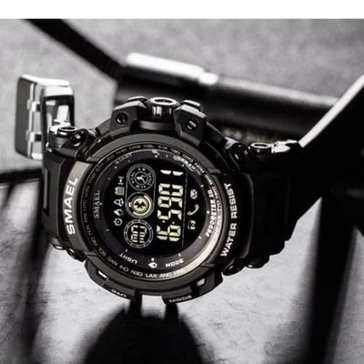 Smael Black 8018 Bluetooth Sport Watch-Smael South Africa-Smael South Africa