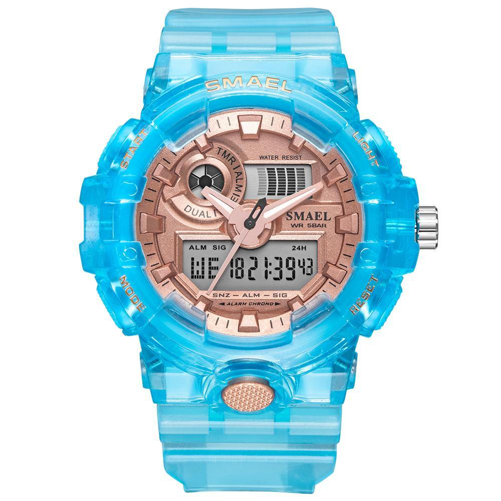 Smael 8023 Blue Sports Watch