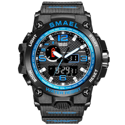 Smael 1545D Blue Multifunctional Watch - Smael South Africa