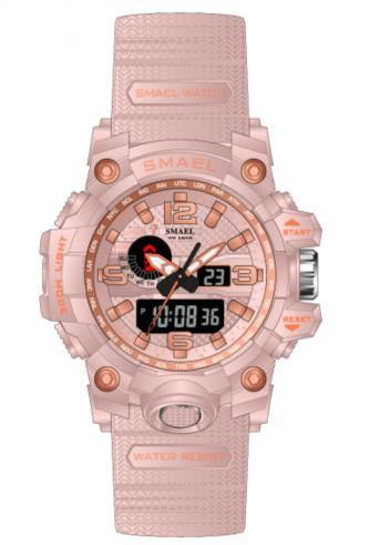 Smael Kids/Ladies Light Pink Multifuction Watch