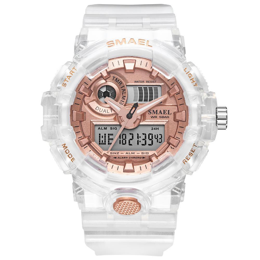 Smael 8023 Rose Gold Sports Watch