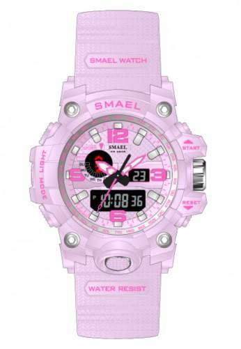 Smael Kids/Ladies Pink Multifuction Watch