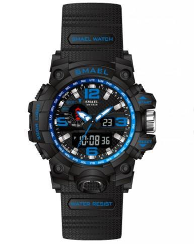 Smael Kids/Ladies Blue Multifuction Watch