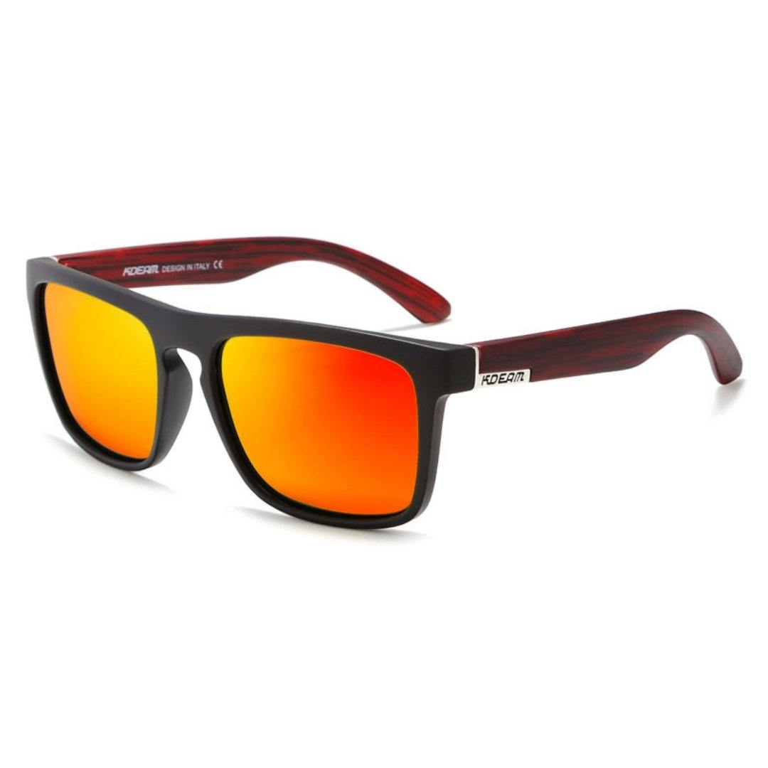 Kdeam KD156 Brown/Yellow Polarized Sunglasses-Smael South Africa-Smael South Africa