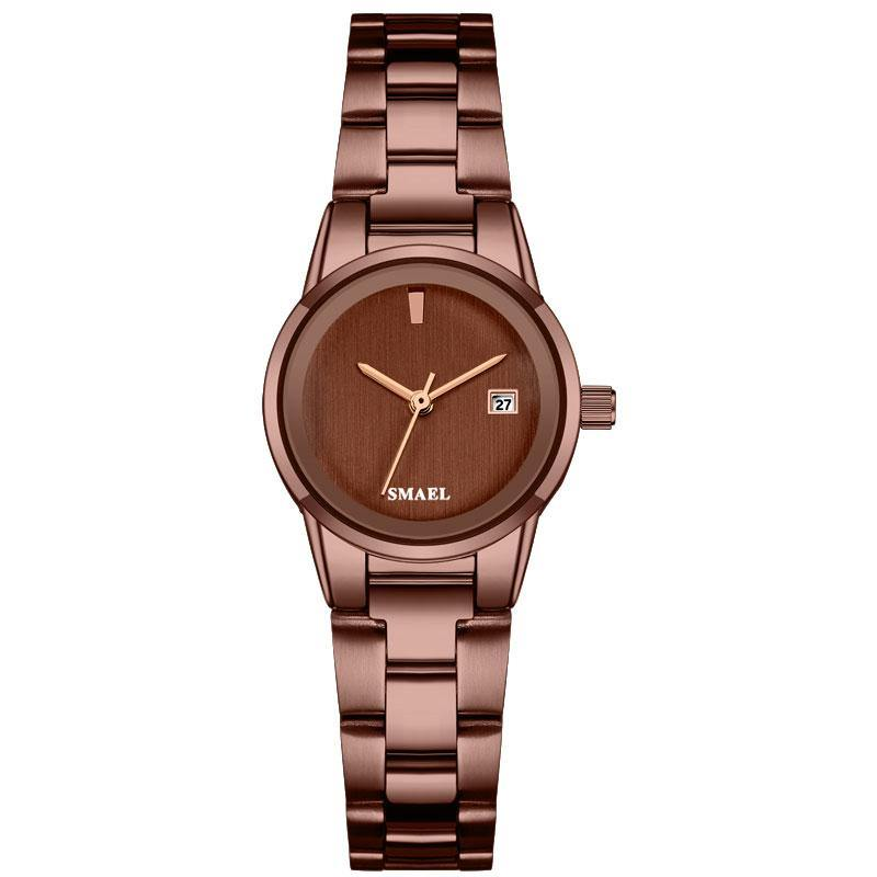 Smael SL9004L Ladies Elegant Watch - Brown