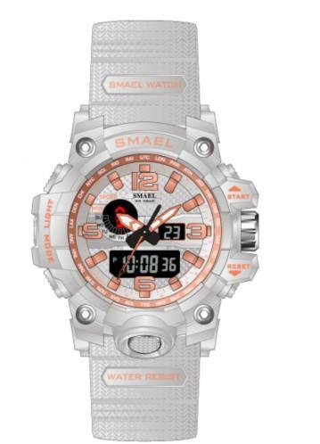 Smael Kids/Ladies White/Rose Gold Multifuction Watch