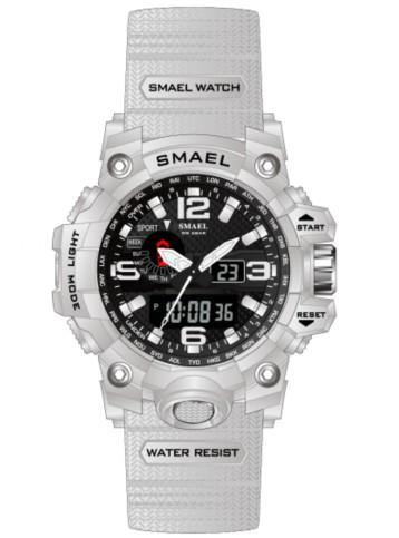 Smael Kids/Ladies White/Black Multifuction Watch