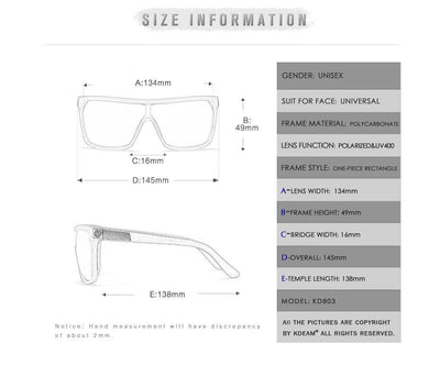 Kdeam KD803 C4 Polarized Sunglasses