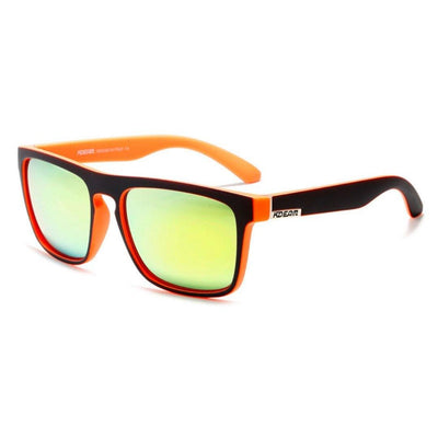 Kdeam KD156 Oranje/Green Polarized Sunglasses-Smael South Africa-Smael South Africa