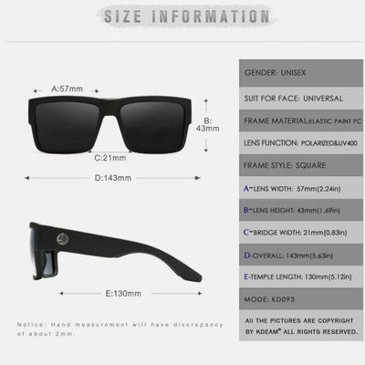 Kdeam KD093 #2 Polarized Sunglasses