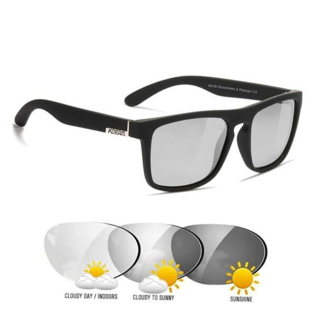 Kdeam KD156 #10 Polarized Sunglasses - PhotoChromic