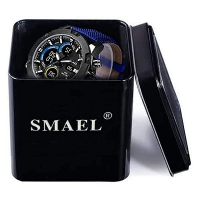 Kids Smael Black Chronograph Watch-Smael South Africa-Smael South Africa