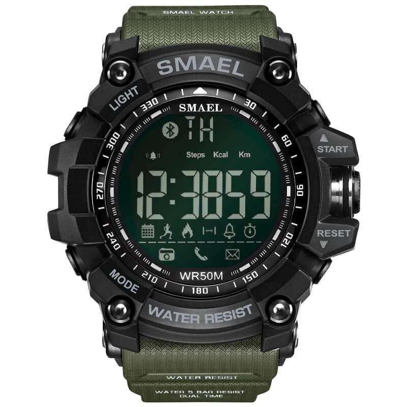 Smael Green Bluetooth Sport Watch-Smael South Africa-Smael South Africa