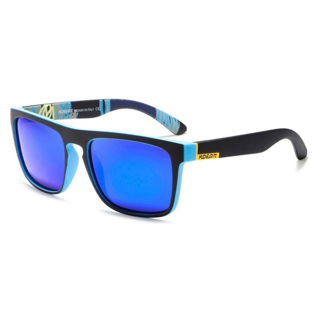 Kdeam KD156 Black/Dark Blue Polarized Sunglasses-Smael South Africa-Smael South Africa
