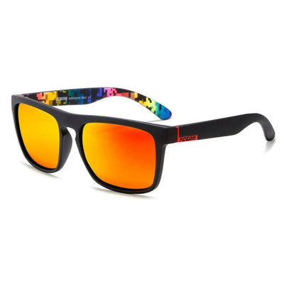 Kdeam KD156 Black/Orange Polarized Sunglasses-Smael South Africa-Smael South Africa