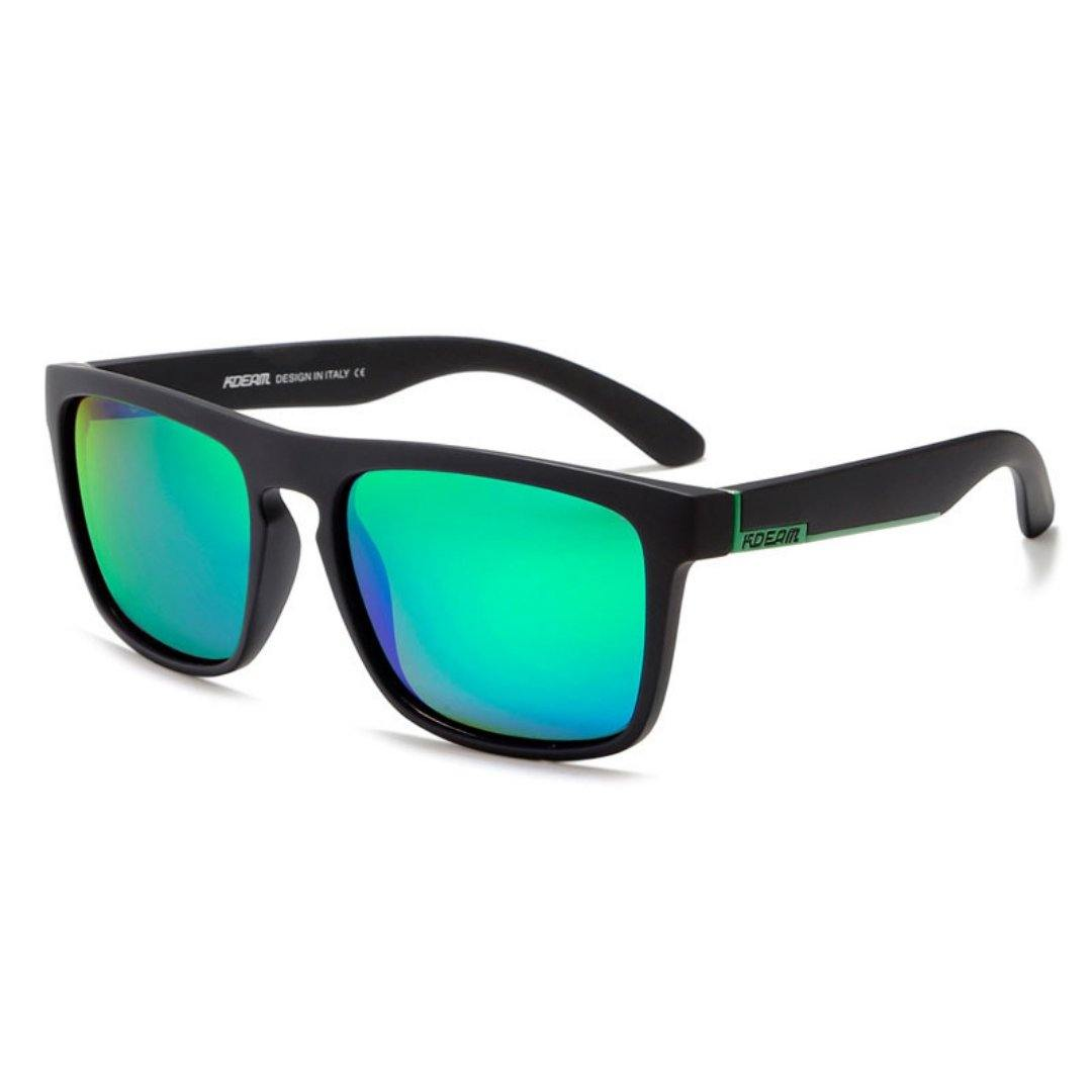 Kdeam KD156 Black/Green2 Polarized Sunglasses-Smael South Africa-Smael South Africa
