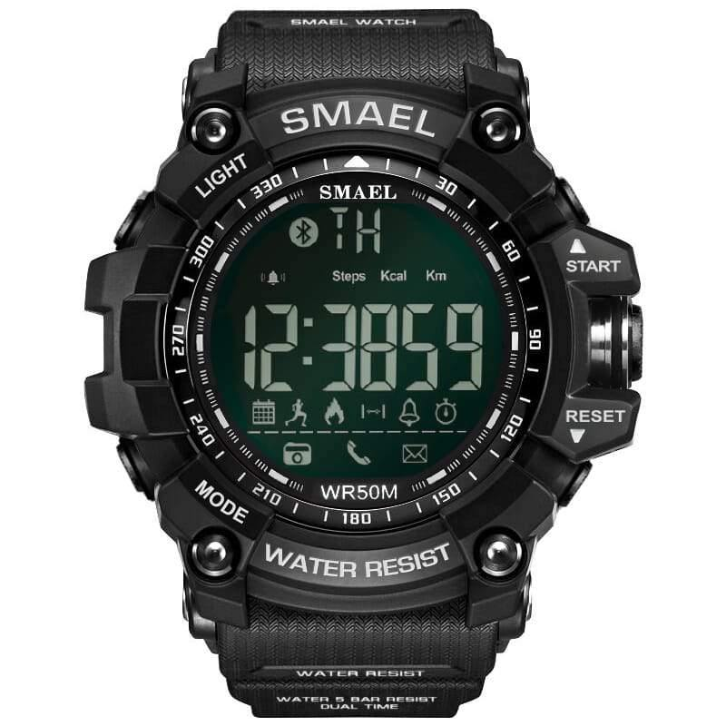 Smael Black Bluetooth Sport Watch-Smael South Africa-Smael South Africa