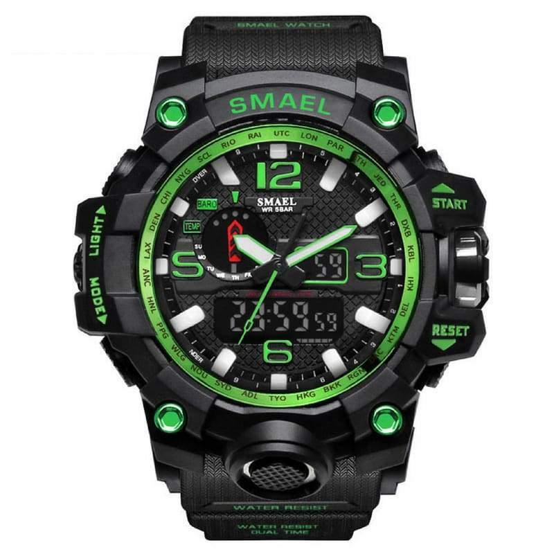 Smael Green Multifunctional Watch-Smael South Africa-Smael South Africa