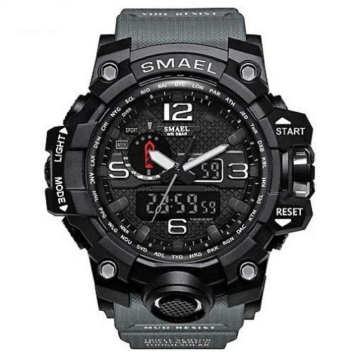 Smael Grey Multifunctional Watch-Smael South Africa-Smael South Africa