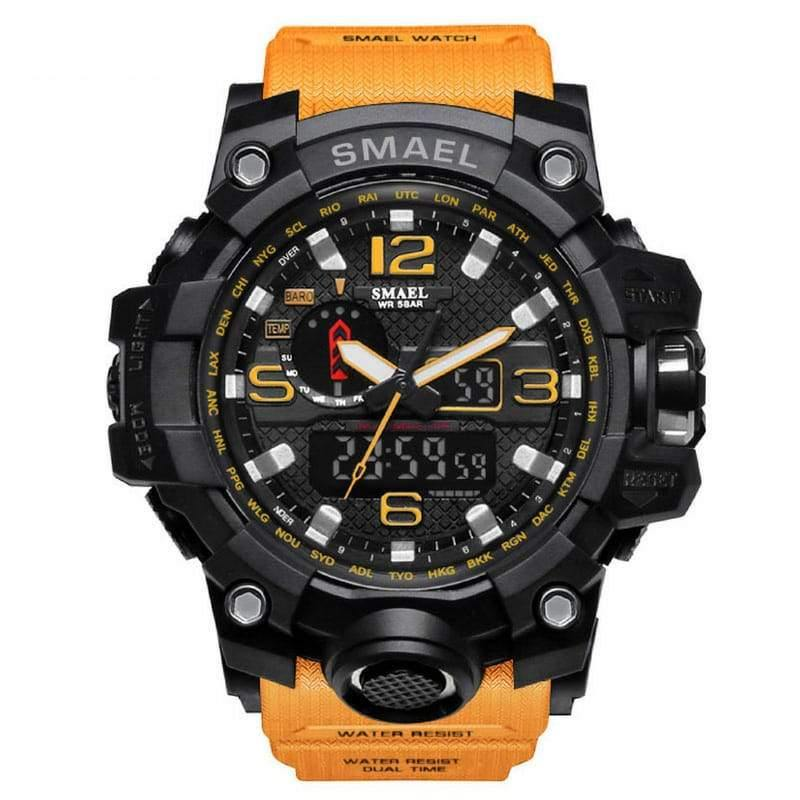 Smael Yellow Multifunctional Watch-Smael South Africa-Smael South Africa