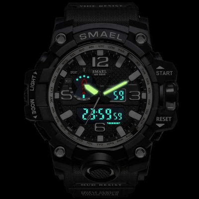 Smael Army Green Multifunctional Watch-Smael South Africa-Smael South Africa