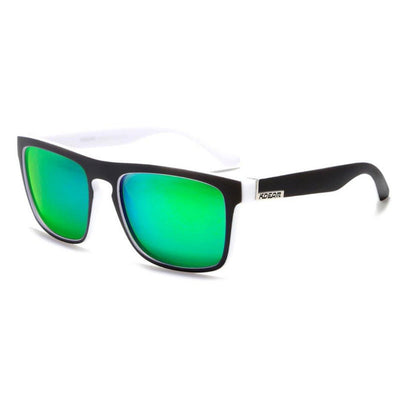 Kdeam KD156 White/Green Polarized Sunglasses-Smael South Africa-Smael South Africa