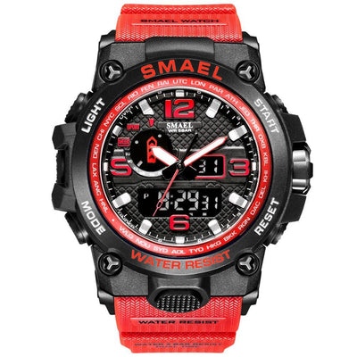 Smael 1545D Red Multifunctional Watch - Smael South Africa
